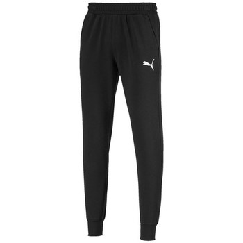 Clothing Men Tracksuit bottoms Puma Ess Logo Pants TR CL Black