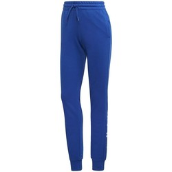 Clothing Women Tracksuit bottoms adidas Originals Essentials Linear Pant Blue