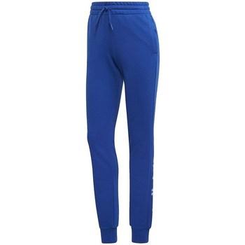 Clothing Women Tracksuit bottoms adidas Originals Essentials Linear Pant Blue