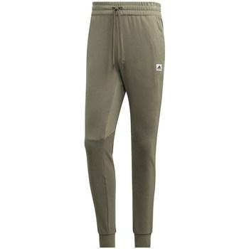 Clothing Men Tracksuit bottoms adidas Originals Brilliant Basics Green