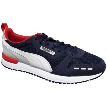 Shoes Men Low top trainers Puma R78 Peacoat White, Red, Navy blue