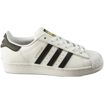 Shoes Women Low top trainers adidas Originals Superstar W White