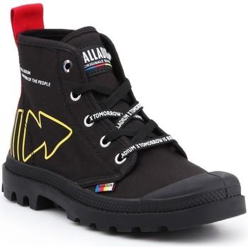 Shoes Hi top trainers Palladium Pampa Dare Rew FWD 76862-008-M black