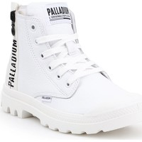 Shoes Women Hi top trainers Palladium Pampa UBN Zips LTH 96857-103-M white