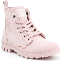 Shoes Women Hi top trainers Palladium Pampa HI ZIP NBK 96440-613-M pink