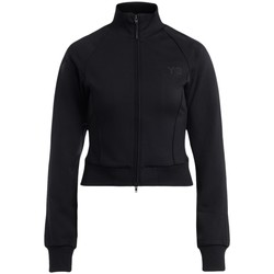 Clothing Women Sweaters Y-3 CL Track black jacket with zip Black