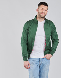 Clothing Men Jackets Harrington HARRINGTON PAULO Green