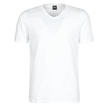 Clothing Men Short-sleeved t-shirts BOSS Canistro 80 10136613 01 White