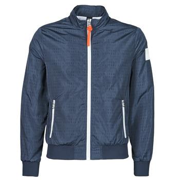 Clothing Men Leather jackets / Imitation leather Kaporal KADRI Marine