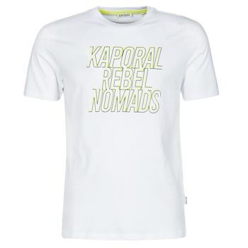 Clothing Men Short-sleeved t-shirts Kaporal DARIN White