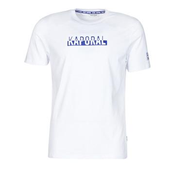 Clothing Men Short-sleeved t-shirts Kaporal DINO White