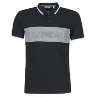 Clothing Men Short-sleeved polo shirts Kaporal DIAM Black