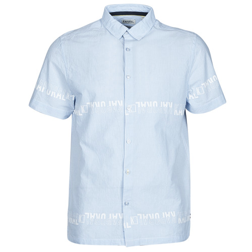 Clothing Men Short-sleeved shirts Kaporal STEVE Blue