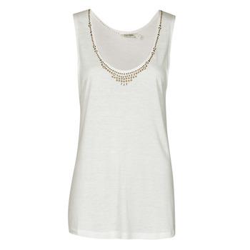 Clothing Women Tops / Sleeveless T-shirts Kaporal PAMPI White
