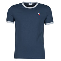 Clothing Men Short-sleeved t-shirts Le Coq Sportif ESS Tee SS N°4 M Blue / Dark