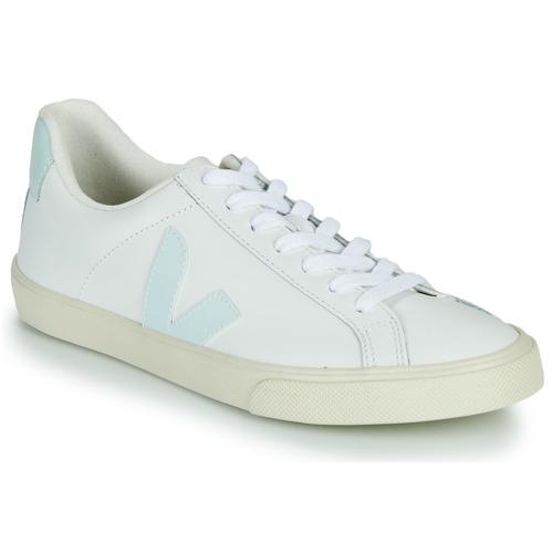 Shoes Women Low top trainers Veja ESPLAR LOGO White / Blue
