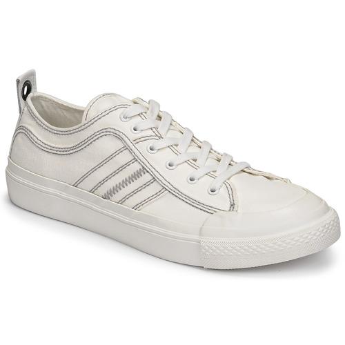 Shoes Men Low top trainers Diesel TAORMINY White
