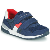 Shoes Boy Low top trainers Tommy Hilfiger JEROME Blue