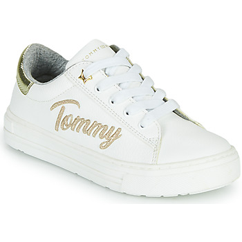 Shoes Girl Low top trainers Tommy Hilfiger SOFI White