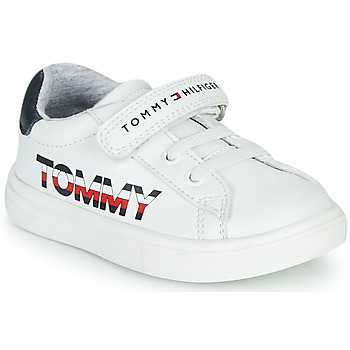 Shoes Children Low top trainers Tommy Hilfiger MARILO White