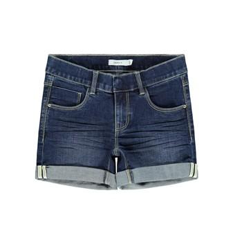 Clothing Girl Shorts / Bermudas Name it NKFSALLI Blue