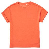 Clothing Girl Short-sleeved t-shirts Name it NKFKYRRA Coral