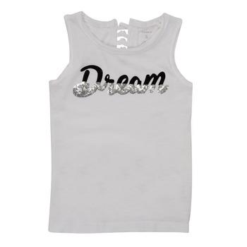 Clothing Girl Tops / Sleeveless T-shirts Name it NKFFASAI White