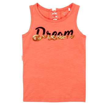 Clothing Girl Tops / Sleeveless T-shirts Name it NKFFASAI Coral