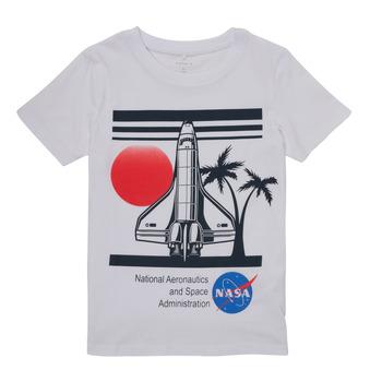 Clothing Boy Short-sleeved t-shirts Name it NASA White