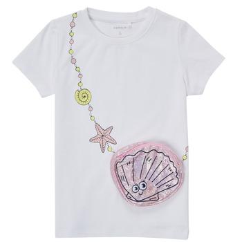 Clothing Girl Short-sleeved t-shirts Name it NMFFEFA White