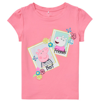 Clothing Girl Short-sleeved t-shirts Name it PEPPAPIG Pink
