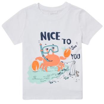 Clothing Boy Short-sleeved t-shirts Name it NMMFANO White