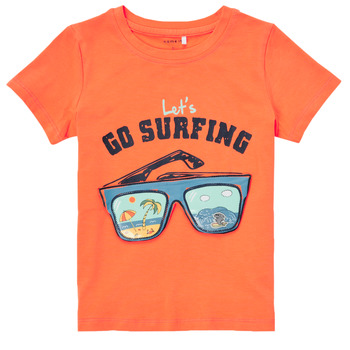 Clothing Boy Short-sleeved t-shirts Name it NMMFANO Orange