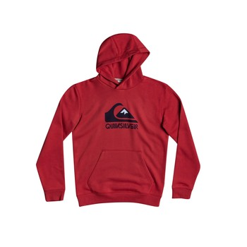 Clothing Boy Sweaters Quiksilver BIG LOGO Red