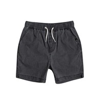 Clothing Boy Shorts / Bermudas Quiksilver TAXER WS Black
