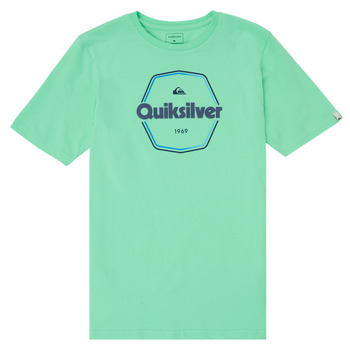 Clothing Boy Short-sleeved t-shirts Quiksilver HARD WIRED Blue