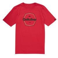 Clothing Boy Short-sleeved t-shirts Quiksilver HARD WIRED Red