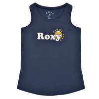 Clothing Girl Tops / Sleeveless T-shirts Roxy THERE IS LIFE FOIL Marine