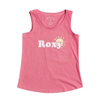 Clothing Girl Tops / Sleeveless T-shirts Roxy THERE IS LIFE FOIL Pink