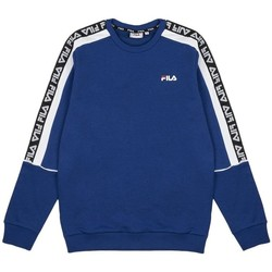 Clothing Men Sweaters Fila Teom Crew Blue