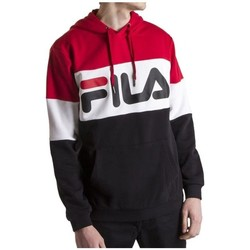 Clothing Men Sweaters Fila Night Blocked Hoody White, Black, Red