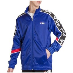 Clothing Men Track tops Fila Ted Track Black, Red, Blue