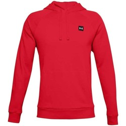 Clothing Men Sweaters Under Armour Rival Fleece Hoodie Red