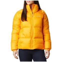 Clothing Women Duffel coats Columbia Puffect Jacket Yellow