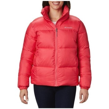 Clothing Women Duffel coats Columbia Puffect Jacket Red
