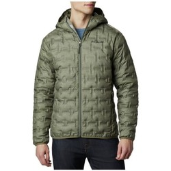 Clothing Men Duffel coats Columbia Delta Ridge Down Hooded Jacket Green