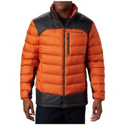 Clothing Men Duffel coats Columbia Autumn Park Down Jacket Black, Orange