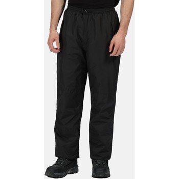 Clothing Men Tracksuit bottoms Professional Men's Linton Waterproof Breathable Lined Overtrousers Black