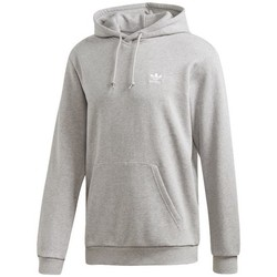 Clothing Men Sweaters adidas Originals Trefoil Essentials Hoodie Grey