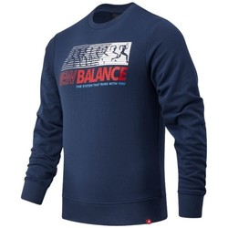 Clothing Men Sweaters New Balance MT03509NGO Navy blue